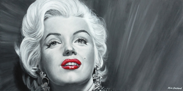 Marilyn Monroe by chaosart